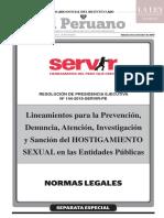 RESOLUCIÓN DE PRESIDENCIA EJECUTIVA Nº 144-2019-SERVIR-PE