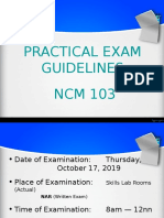 practical exam