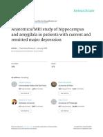 Anatomical MRI Study of Hippocampus