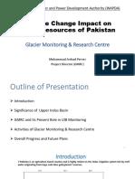 Climate Change Impact on Water Resources of Pakistan, WAPDA Pakistan