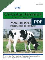 Mastite bovina - informações ao produtor