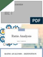 Ratio Planning - GROUP 7