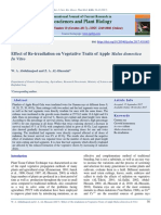 W. A. Abdulmajeed and Z. A. AL-Hussaini(2017)Effect of Re-irradiation on Vegetative Traits of Apple Malus domestica In Vitro.Int. J. Curr. Res. Biosci. Plant Biol. 4(10), 38-43 (2017)