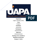 Unidad i Logica y Filosofia Juridica.