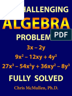50 Challenging Algebra Problems - Chris McMullen.pdf