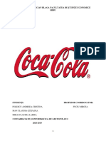 Analiza Mediului de Marketing Coca Cola HBC România