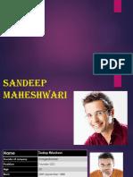 Sandeep Maheswari Presentation