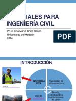 materiales para ingeniería civil