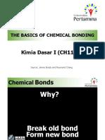 Handouts-Basic of Chemical Bonding