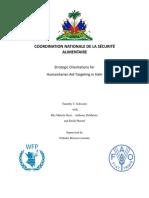 Guide for Vulnerability Targeting in Haiti 5-24-15