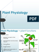 NSB BOT 20 Intro Chapter 1A Plant Physiology