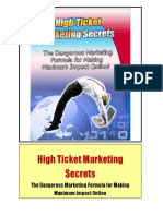 How to market big ticket items for big profit