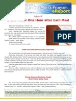 00056--HealingHabit09-Drink Water 1 Hr After Each Meal