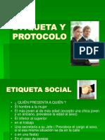 4. Cuarta Parte Etiqueta y Protocolo