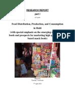 Food Consumption Patterns in Haiti