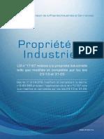 LOI n°17-97 relative à la propriété industrielle