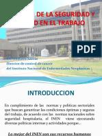 Conferencia Dr Gustavo Sarria Inen