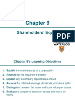 Ch.9 - Shareholders' Equity_MH