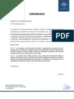 Comunicado Sarampo
