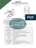 EASIPROX Installation Manual