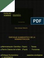 Nº 4 Evolución de La Administración II