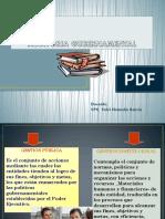PRINCIPIOS DE CONTROL GUBERNAMENTAL