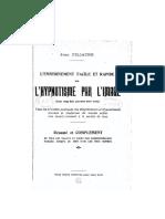 L_hypnotisme Par L_image. Jean FILLIATRE