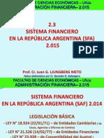 2.3.a.fce-ADM.fin-Sistema Financiero Argentino 2014