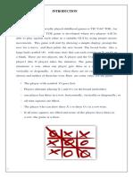 Project  TIC Tak Toe using Python