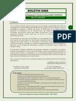 Boletin_GIDA_INTE_1 Derecho Y POLITICA Ambiental