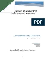 COMPROBARES DE PAGO