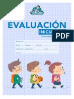 Evaluación inicial matemáticas 3º primaria