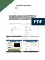 Tutorial Para Instalación de XAMPP NetBeans y Java