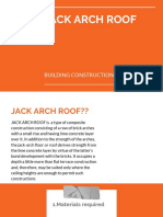 Jack Arch Roof BC 210