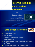 Prakash Singh_Police Reforms in India