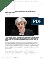 Há Tolerância Demais Com Extremismo No Reino Unido, Diz Premiê Após Ataque - BBC News Brasil