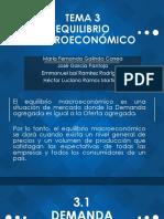 Equilibro Macroeconómico