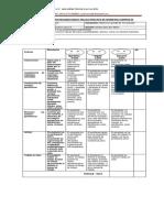 Rubrica de Evaluacion Trajajo Practico de Geometria Cuerpos 3d