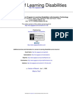 Journal of Learning Disabilities Volume 31 Issue 1 1998 [Doi 10.1177_002221949803100106] Bryant, D. P.; Erin, J.; Lock, R.; Allan, J. M.; Resta, P. E. -- Infusing a Teacher Preparation Program in Le