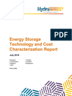 Energy Storage Cost and Performance Characterization Report