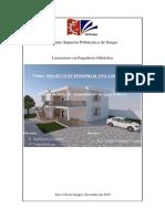 Projecto de Residência Do Tipo Condomínio