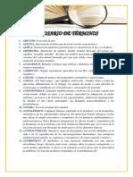 Glosario Completo Primer Parcial Word PDF