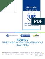 Modulo Gerencia Financiera Presentacion