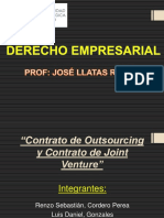 02 Contrato de Outsourcing y Joint Venture