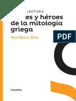 dioses y héroes de la mitología griega PDF