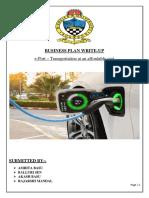 Business Plan Write