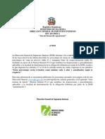 AVISO DGII - NUEVAS TASAS EFECTIVAS DE TRIBUTACION - TET - (1).pdf