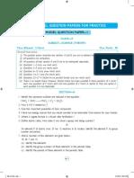 science sample paper