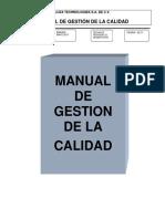Mgc-0002 Manual de Calidad