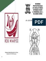 Nowenna Przygotowująca Do Sodalicyjnego Wyznania Wiary 21 Września 2013 r. Na Jasnej Górze